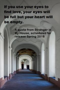 Corridor in old monastery